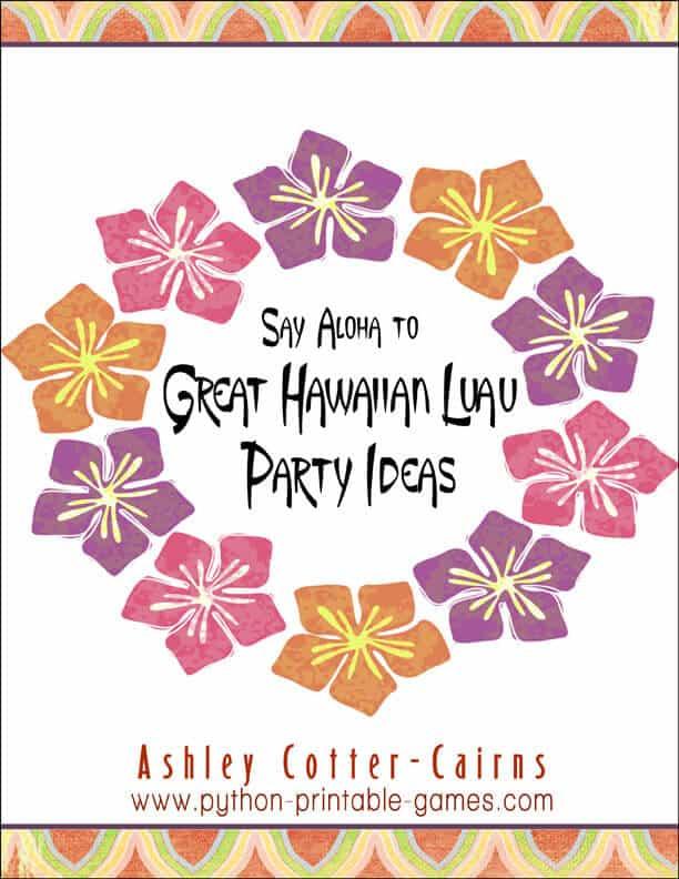 Hawaiian Luau Party Ideas eBook