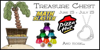 Treasure Chest Giveaway