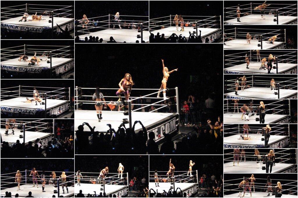 Kelly Kelly and Eve defeats Beth Phoenix and Natalya