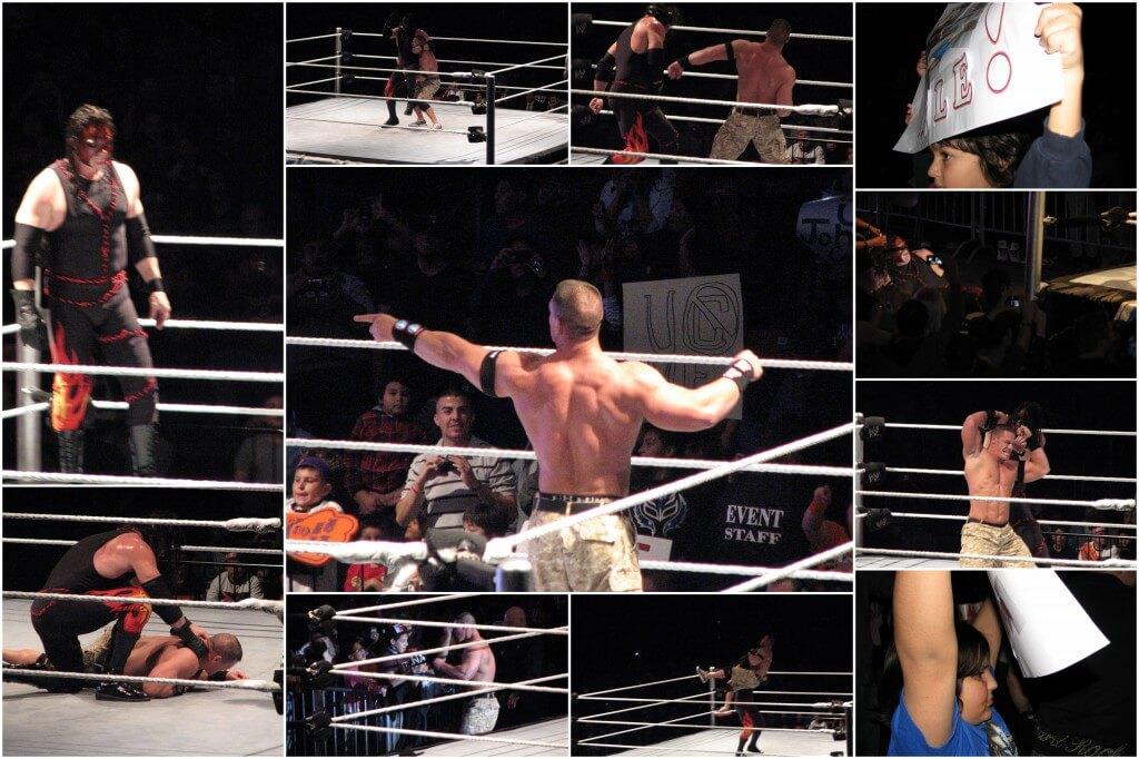 John Cena defeats Kane