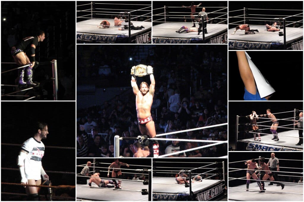CM Punk defeats The Miz
