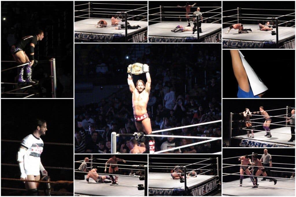 CM Punk defeats The Miz