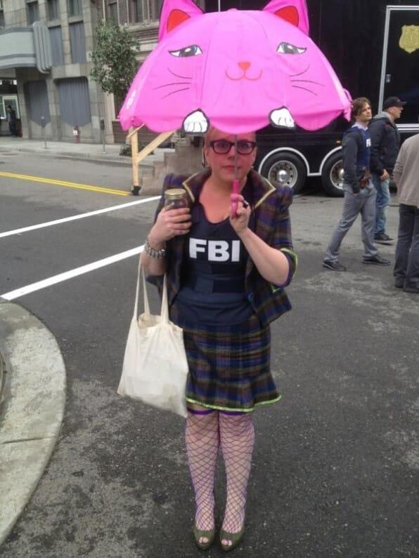 Kirsten Vangsness Kidorable Umbrella