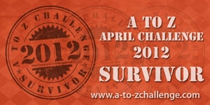 We survived the A to Z Challenge