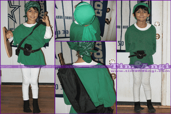 No Sew Costume - Link (Legend of Zelda) / Robin Hood - Tim And Angi
