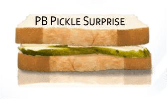 PB Pickle Surprise