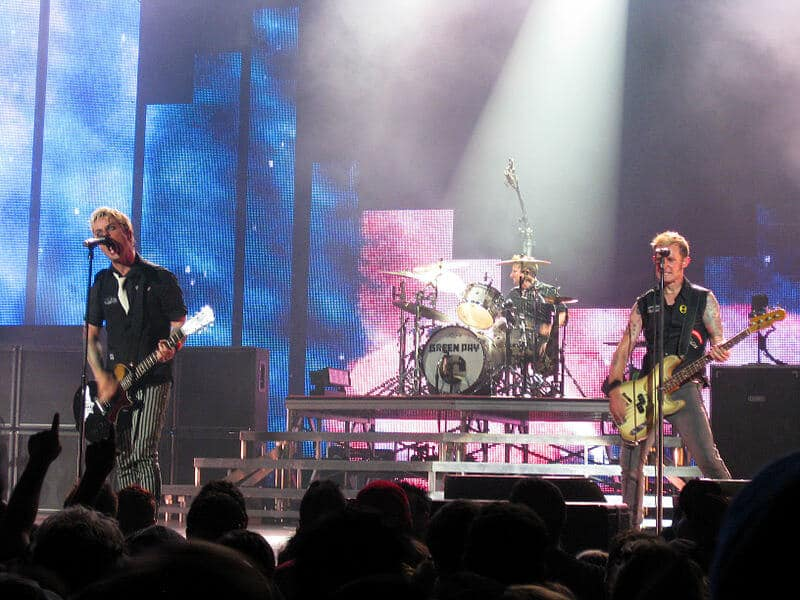 Green Day In Concert