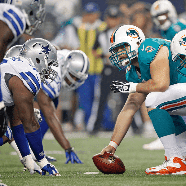 Football Preseason - Dallas Cowboys VS Miami Dolphins