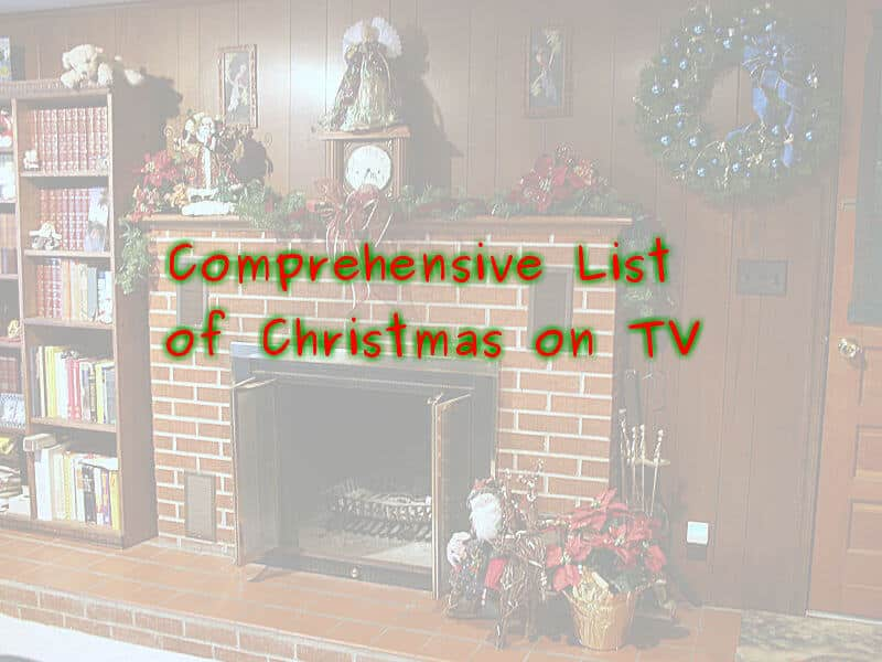 The Comprehensive List of Christmas Shows on TV