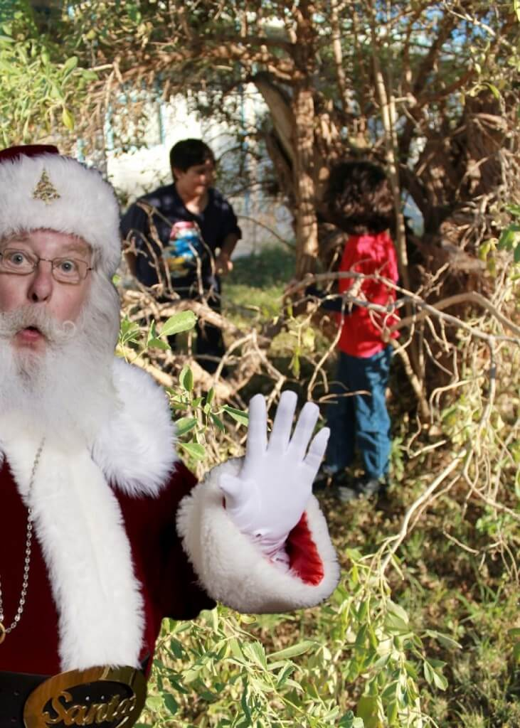 We Caught Santa Spying