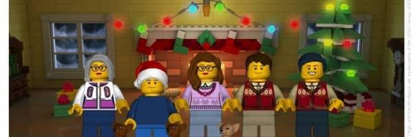 Create A LEGO Minifigure Holiday Card
