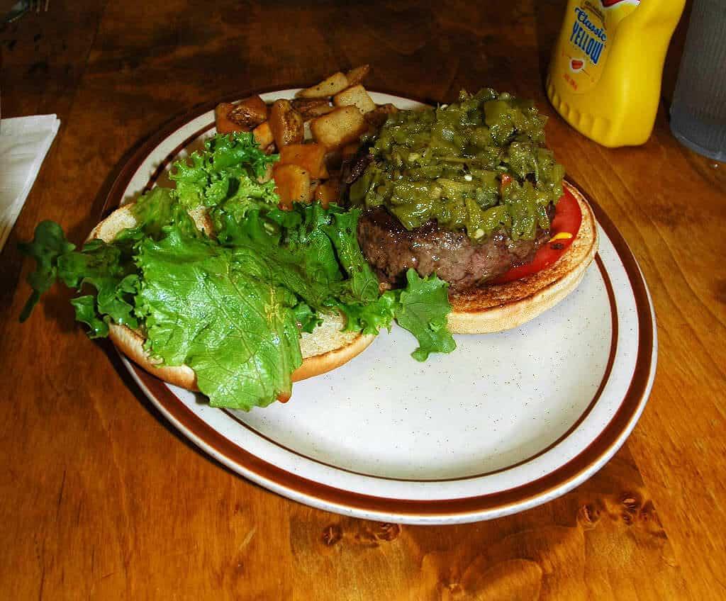 Bobcat Bite burger